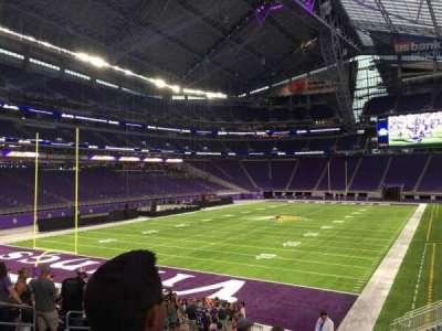 U.S. Bank Stadium, section: 138, row: 20, seat: 24