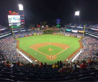 Citizens Bank Park, section: 421, row: 10, seat: 9