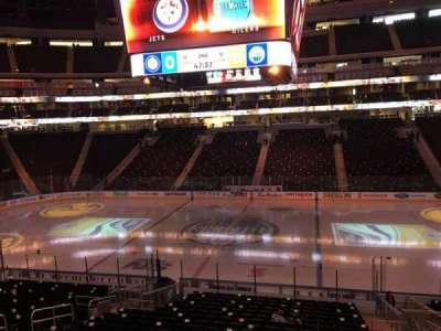 Rogers Place, section: 102, row: Acc 23, seat: 6