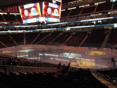 Rogers Place, section: 134, row: 25, seat: 3