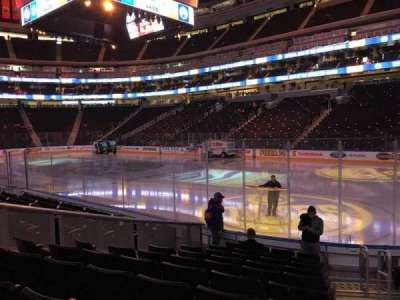 Rogers Place, section: 134, row: 10, seat: 1