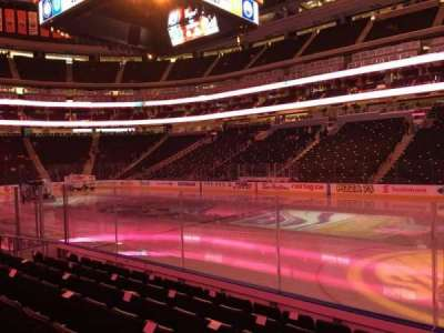 Rogers Place, section: 101, row: 7, seat: 1