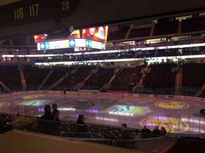 Rogers Place, section: 117, row: Bar Rail, seat: 19