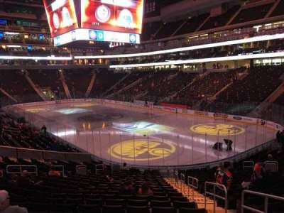 Rogers Place, section: 115, row: 21, seat: 3