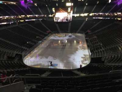 T-Mobile Arena, section: 102, row: J, seat: 6