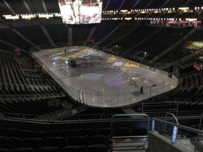 T-Mobile Arena, section: 118, row: G, seat: 13
