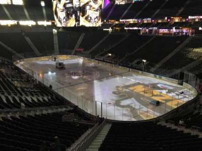 T-Mobile Arena, section: 117, row: A, seat: 7