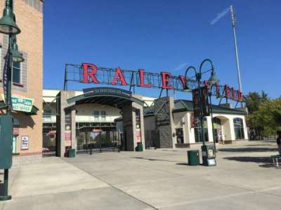 Raley Field, section: Outside