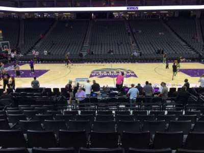 Golden 1 Center section 107