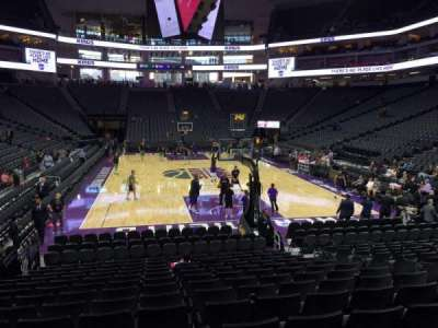Golden 1 Center, section: 114, row: F, seat: 10
