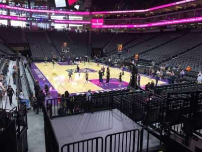 Golden 1 Center, section: 115, row: G, seat: 5