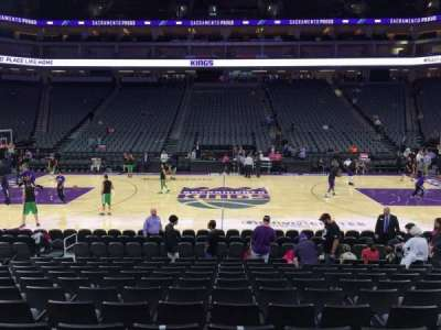 Golden 1 Center, section: 120, row: A, seat: 10