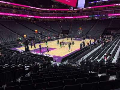 Golden 1 Center, section: 124, row: E, seat: 5