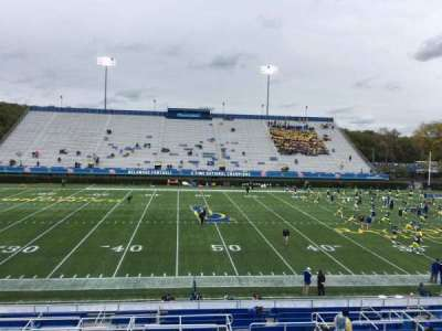 Delaware Stadium, section: D, row: R, seat: 23