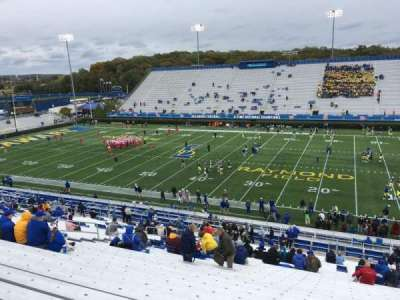 Delaware Stadium, section: B, row: Jj, seat: 12