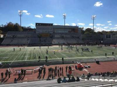 Johnny Unitas Stadium, section: 105, row: X, seat: 15