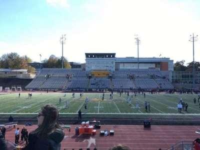 Johnny Unitas Stadium, section: 104, row: Q, seat: 15