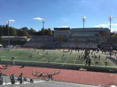 Johnny Unitas Stadium, section: 102, row: Dd, seat: 16