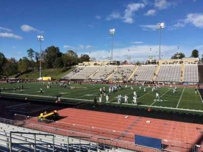 Johnny Unitas Stadium, section: 108, row: N, seat: 9