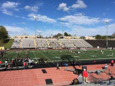 Johnny Unitas Stadium, section: 113, row: N, seat: 13