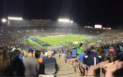Rose Bowl, section: 1, row: 67, seat: 1
