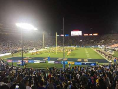 Rose Bowl, section: 26, row: 29, seat: 43