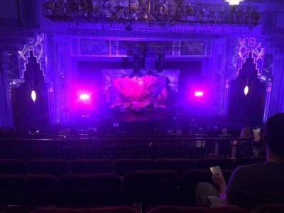 Pantages Theatre (Hollywood), section: Mezz, row: N, seat: 306