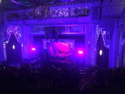 Pantages Theatre (Hollywood), section: Mezzanine R, row: M, seat: 10