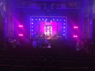 Pantages Theatre (Hollywood), section: Orchestra C, row: Nn, seat: 107