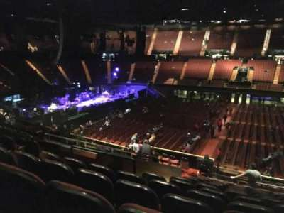 The Forum, section: 128, row: 16, seat: 7