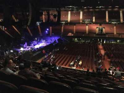 The Forum, section: 127, row: 16, seat: 8