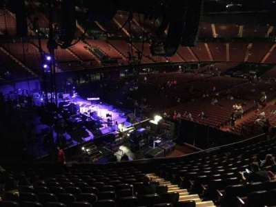 The Forum, section: 122, row: 13, seat: 9