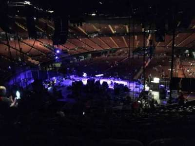 The Forum, section: 120, row: 16, seat: 6