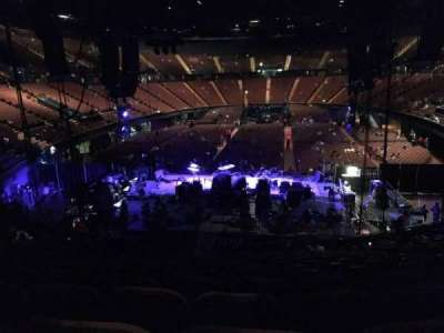 The Forum, section: 119, row: 16, seat: 8