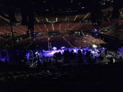 The Forum, section: 118, row: 16, seat: 5