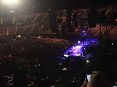 The Forum, section: 213, row: 7, seat: 9