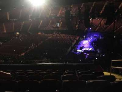 The Forum, section: 212, row: 11, seat: 12