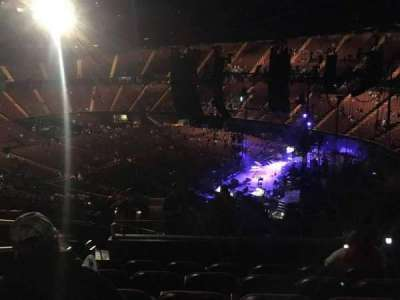 The Forum, section: 214, row: 10, seat: 5