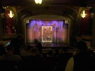 Lyric Theatre, section: Dress Circle C, row: F, seat: 110