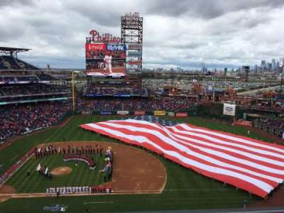 Citizens Bank Park, section: 415, row: 1, seat: 3
