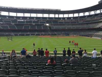 SunTrust Park, section: 147, row: 16, seat: 14