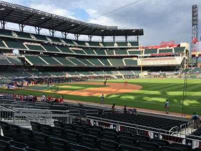 SunTrust Park, section: 113, row: 7, seat: 12