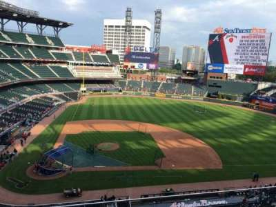SunTrust Park, section: 322, row: 4, seat: 12