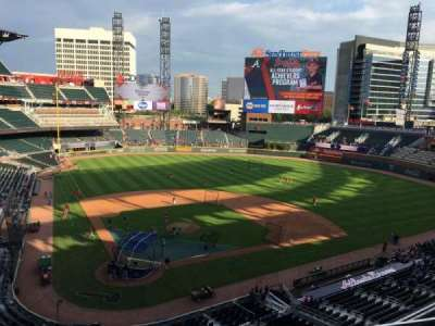 SunTrust Park, section: 324, row: 2, seat: 10