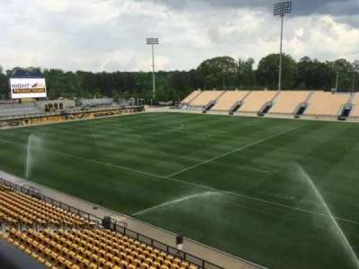 Fifth Third Bank Stadium, section: Outdoor Bay Suite, row: 1