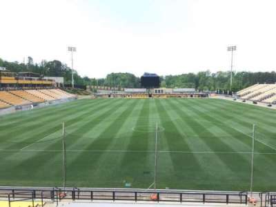 Fifth Third Bank Stadium, section: 116