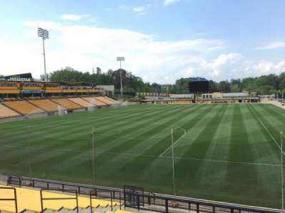 Fifth Third Bank Stadium, section: Ga 118