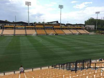 Fifth Third Bank Stadium, section: 123, row: R, seat: 10