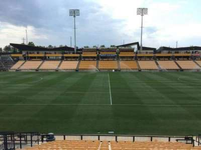 Fifth Third Bank Stadium, section: 126, row: Q, seat: 10