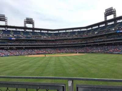 Citizens Bank Park, section: 147, row: 4, seat: 13